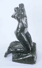 Female Torso, Kneeling, Twisting Nude