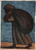 Diego Rivera, 'Peasant Woman', 1946