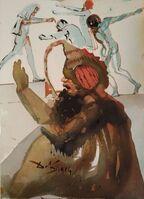 "Salvador Dalí, 'Joseph et fratres in Aegypto - From ""Biblia Sacra""', 1964"
