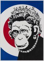 Banksy, 'Monkey Queen', 2004