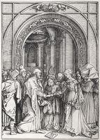 Albrecht Dürer, 'Betrothal of the Virgin', 1511