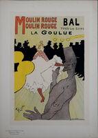 Henri de Toulouse-Lautrec, 'Maitres Affiche : Moulin Rouge', 1896