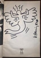 Keith Haring, 'Angel Mermaid', 1987