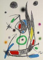 Joan Miró, 'Maravillas con variaciones acrósticas en el jardín de Miró XIV', 1975