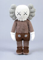 KAWS, 'KAWS brown Plush Companion ', 2019