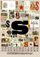 Peter Blake, 'The Letter S', 2007