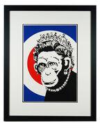 Banksy, 'Monkey Queen', 2003