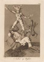 Francisco de Goya, 'Los caprichos: Subir y bajar', published 1799