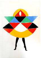 """Sonia Delaunay, 'Original Pochoir """"27 Living Paintings V"""" by Sonia Delaunay', 1969"""
