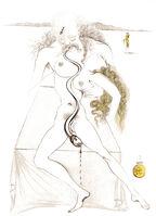 Salvador Dalí, 'Casanova - Nude Couple, Large Serpent', 1967