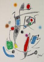 Joan Miró, 'Maravillas con variaciones acrósticas en el jardín de Miró X', 1975