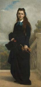 Alexandre Cabanel, 'Portrait of Miss Cornelia Lyman Warren, Trustee of Wellesley College', 1871