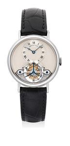 Breguet, 'A fine and attractive white gold touribillon wristwatch', Circa 2003