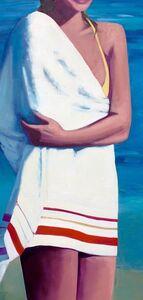 TS Harris, 'Beach Towel', 2016
