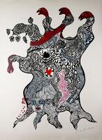 Niki de Saint Phalle, 'Arbre aux Serpents', 1970