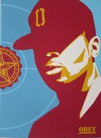 Shepard Fairey (OBEY), 'Chuck D. : Fight the Power', 2020