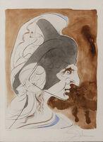 "Salvador Dalí, ' Condottiere  "" Hommage à Leonardo""', Mid-20th Century."