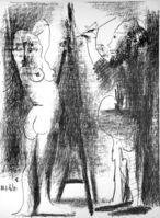 Pablo Picasso, 'Le Peintre et Son Modèle', 1964