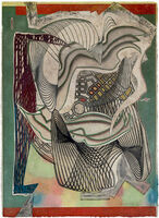 Frank Stella, 'The Funeral (Dome) From Moby Dick Domes', 1992