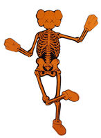 KAWS, 'Orange Companion Skeleton ', 2007