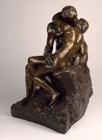 Auguste Rodin, 'The Kiss'