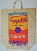 Andy Warhol, 'Campbell's Soup Can on Shopping Bag', 1966