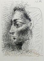 Pablo Picasso, 'Portrait de Jacqueline', 1956