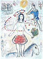 Marc Chagall, 'Circus', ca. 1980