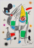 Joan Miró, 'Maravillas con variaciones acrósticas en el jardín de Miró', 1975