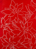 Andy Warhol, 'Poinsettia', 1983