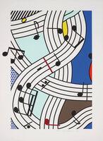 Roy Lichtenstein, 'Composition I', 1996