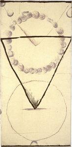 Shoichi Ida, 'Between Vertical and Horizon--Descended Triangle (E)', 1987