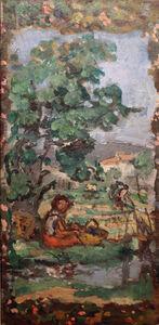 Albert André, 'Les travaux des champs, Eté', 1938