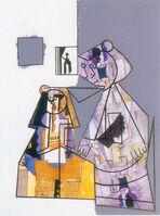 Manolo Valdés, 'El cubismo como pretexto VI', 2003
