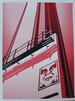 Shepard Fairey (OBEY), 'Sunset and Vine', 2011