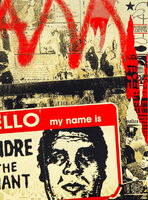Shepard Fairey (OBEY), 'Hello My Name Is', 2019