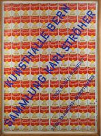 Andy Warhol, '100 Campbell's Soup Cans (Hand Signed and Dated)', 1969