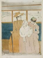 Mary Cassatt, 'In the Omnibus'