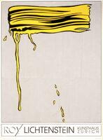 Roy Lichtenstein, 'Yellow Brushstrokes', 1989