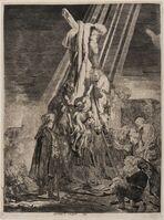 Rembrandt van Rijn, 'The Descent from the Cross: Second Plate'