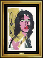 Andy Warhol, 'Andy Warhol Original Hand Signed Rolling Stones Mick Jagger Portrait Artwork SBO', 1975