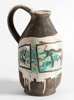 Pablo Picasso, 'Pichet trois taureaux gravés', 1953
