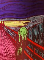 Andy Warhol, 'The Scream (Sunday B. Morning) (set of three)', 2017