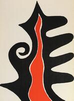 Alexander Calder, 'Alexander Calder Lithograph, Derriere Le Miroir (Calder prints)', 1973