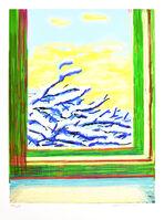 David Hockney, 'My Window, iPad drawing 'No. 610'', 2010