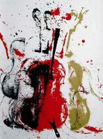 Arman, 'Violent Violins', 1978