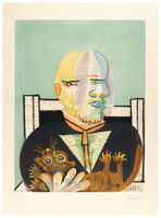 Pablo Picasso, 'Vollard et son Chat', 1960