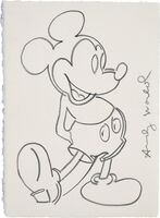 Andy Warhol, 'Mickey Mouse', circa 1983