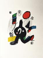 Joan Miró, 'La mélodie acide nr 1218', 1980