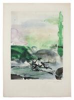 Zao Wou-Ki 趙無極, 'Randonnées', 1974